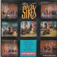 Discos de vinilo: DISCO SINGLE LOS SIREX MUCHACHA BONITA (EN NORMAL ESTADO Y PROBADO). Lote 73003179