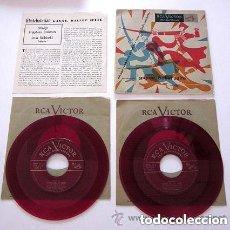 Discos de vinilo: KHATCHATURIAN GAYNE, BALLET SUITE. RCA VICTOR. 2 VINILOS DE COLOR ROJO. MADE IN USA.. Lote 73009523