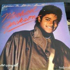 Discos de vinilo: MICHAEL JACKSON ( WANNA BE STARTIN' SOMETHIN') MAXI SINGLE ESPAÑA (VIN-M). Lote 73021983