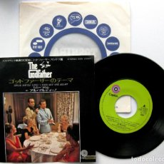 Discos de vinilo: AL MARTINO - THE GODFATHER - SINGLE CAPITOL RECORDS 1972 JAPAN (EDICIÓN JAPONESA) BPY. Lote 73026515