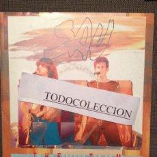 Discos de vinilo: SAU: TU HO ESPERES TOT DE MI SG PROMO EMI 1991 ROCK CATALA. Lote 73027139
