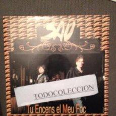 Discos de vinilo: SAU: TU ENCENS EL MEU FOC SG PROMO EMI 1992 ROCK CATALA. Lote 73027407