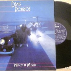 Discos de vinilo: LP DEMIS ROUSSOS - MAN OF THE WORLD - 1980 - MERCURY - COMO NUEVO. Lote 73057427