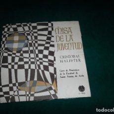 Discos de vinilo: CRISTOBAL HALFTER, MISA DE LA JUVENTUD. PAX 1966. Lote 73060267