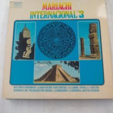 Discos de vinilo: MARIACHI INTERNACIONAL '3. VOL 3. SPAIN. LONDON RECORS 1974 LP VINILO. Lote 73068431