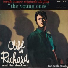 Discos de vinilo: CLIFF RICHARD & THE SHADOWS: BANDE SONORE THE YOUNG ONES ED. FRANCESA COLUMBIA ESDF I376. Lote 73076475
