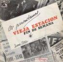 Discos de vinilo: LONE STAR - VIEJA ESTACION - FIN DE SEMANA SG EMI 1968. Lote 73080143