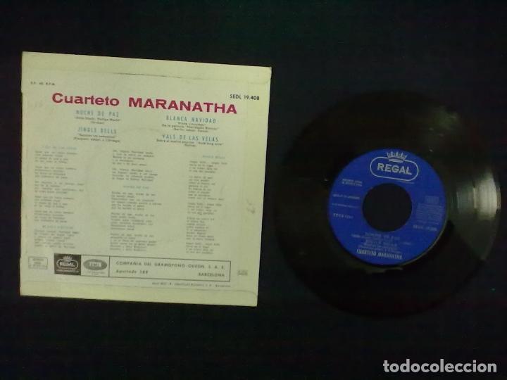 Discos de vinilo: CUARTETO MARANATHA - Foto 2 - 95491892