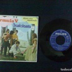 Discos de vinilo: FORMULA V AHORA ESTOY ENAMORADO CENICIENTA. Lote 73265959