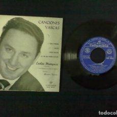 Discos de vinilo: CARLOS MUNGUIA CANCIONES VASCAS. Lote 73287071