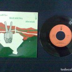 Discos de vinilo: EUZKADI'KO BATASUNA ABESTIAK. Lote 73289531