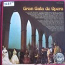 Discos de vinilo: LP - GRAN GALA DE OPERA - VARIOS (CAJA CON 3 LP'S Y LIBRETO, SPAIN, ACE OF DIAMONDS 1976). Lote 73301931