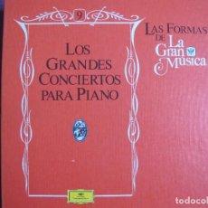 Discos de vinilo: LP - LA GRAN MUSICA - GRANDES CONCIERT PARA PIANO (CAJA CON 6 LP'S, SPAIN, DEUTSCHE GRAMMOPHON 1982). Lote 73333223