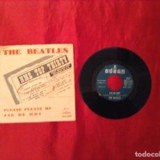 Discos de vinilo: THE BEATLES PELEASE PLEASE ME Y OTRO ROK ANDA ROLLO MUSIK . SINGLES. Lote 73407059