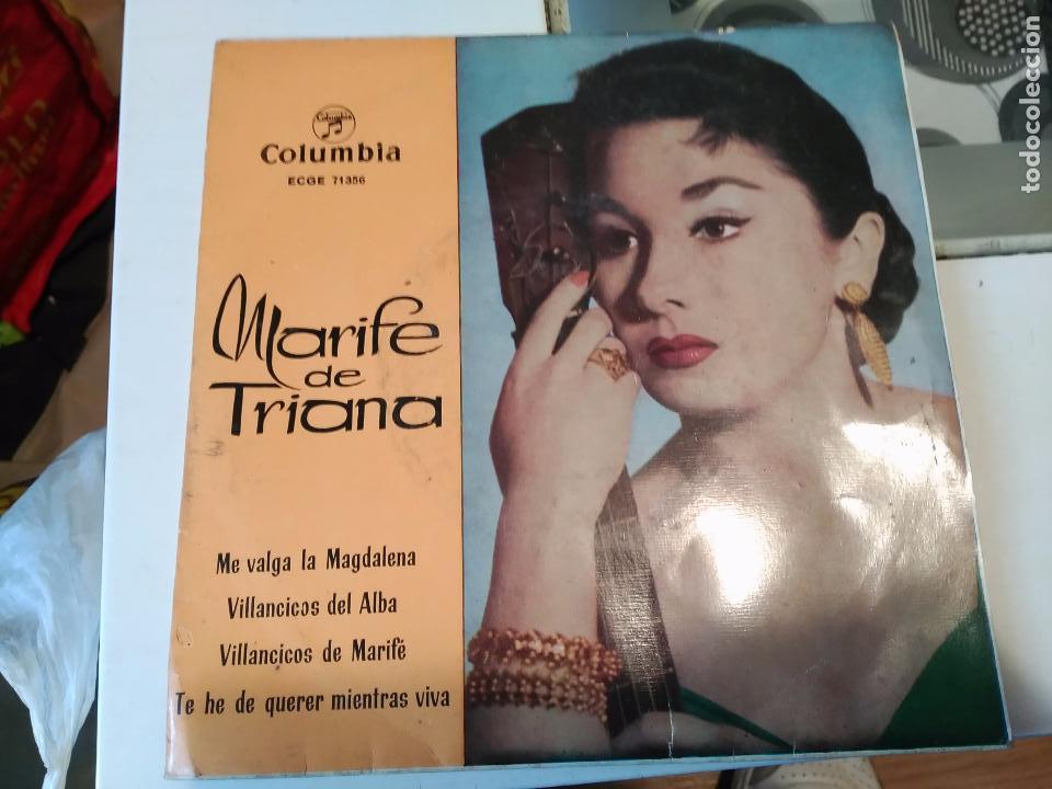 MARIFE DE TRIANA EP COLUMBIA 1960 ME VALGA LA MAGDALENA/ VILLANCICOS DEL ALBA/ VILLANCICOS DE MARIFE (Música - Discos de Vinilo - Maxi Singles - Otros estilos)