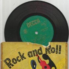 Discos de vinilo: BILL HALEY AN HIS COMETS; LIVE IT UP + REAL ROCK DRIVE + TEN LITTLE INDIANS +1, EDICIÓN ESPAÑOLA. Lote 73440899