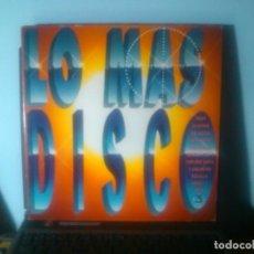 Disques de vinyle: LO MAS DISCO VOL. 3 (2LPS). Lote 73441155