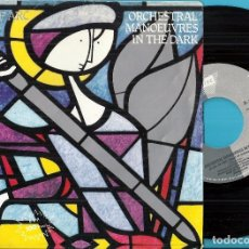 Discos de vinilo: O.M.D. / ORCHESTRAL MANOEUVRES IN THE DARK: JOAN OF ARC (MAID OF ORLEANS) / NAVIGATION. Lote 98128798