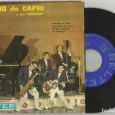 Discos de vinilo: PEPPINO DI CAPRI: MÍRAME MI BIEN + CHISSÀ PERCHE + GHIACCIO + LET ME CRY. Lote 73447483