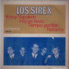 Discos de vinilo: SINGLE - LOS SIREX - YO SOY NAPOLEON - AÑO 1966. Lote 73449411