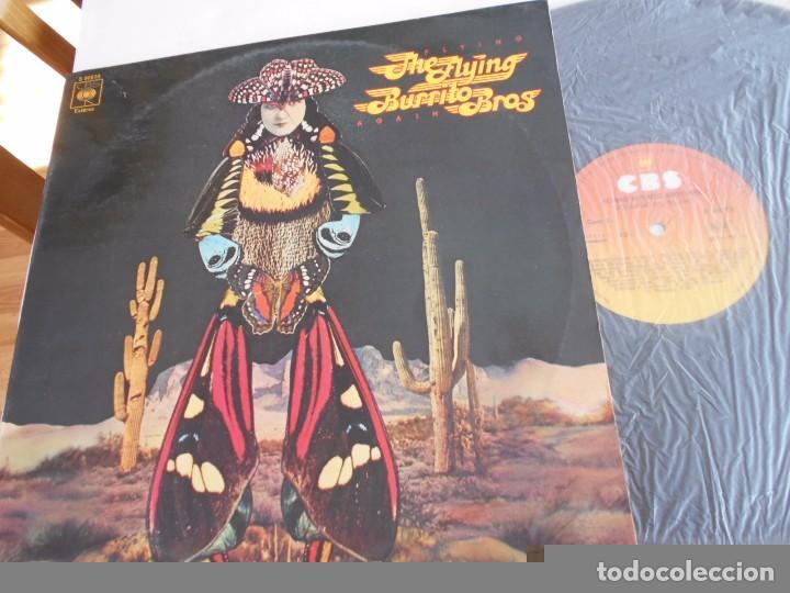THE FLYING BURRITO BROTHERS-LP FLYING AGAIN-ESPAÑOL 1976 (Música - Discos - LP Vinilo - Pop - Rock - Extranjero de los 70)