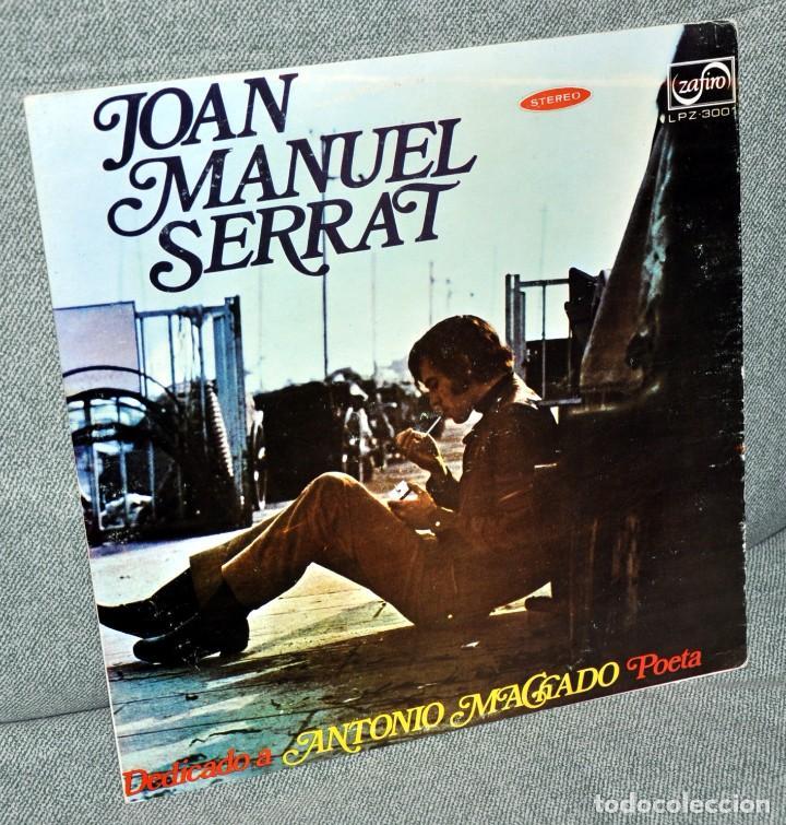 JOAN MANUEL SERRAT - LP VINILO 12'' - EDITADO EN VENEZUELA - DEDICADO A ANTONIO MACHADO POETA (Música - Discos - LP Vinilo - Solistas Españoles de los 70 a la actualidad)