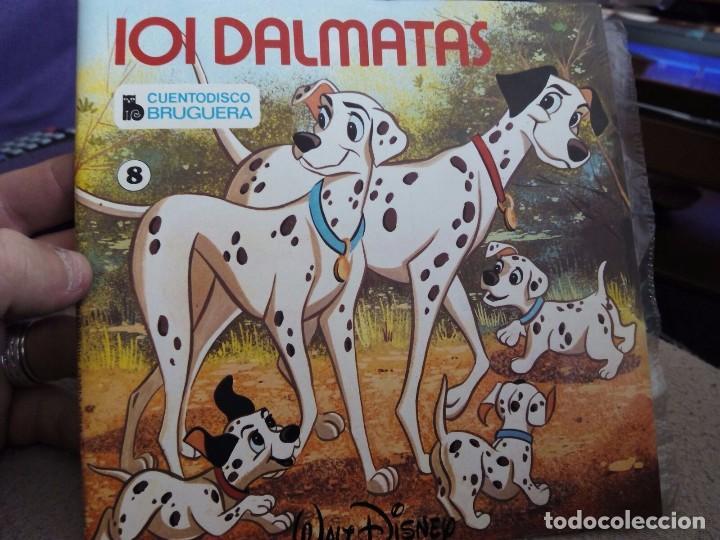 MINI LP. 101 DALMATAS CON CUENTO (Música - Discos - Singles Vinilo - Música Infantil)