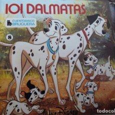 Discos de vinilo: MINI LP. 101 DALMATAS CON CUENTO. Lote 73470111