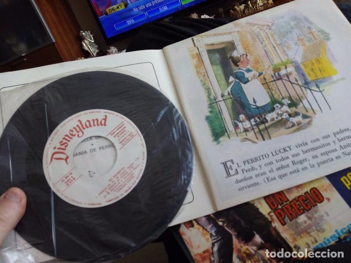 Discos de vinilo: Mini lp. 101 dalmatas con cuento - Foto 2 - 73470111