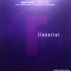 Discos de vinilo: SECRET SOULS-COLOURS E.P. , FLUENTIAL-FLUENT 5. Lote 73471595