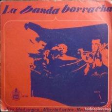 Discos de vinilo: ALBERTO CORTEZ MR. SUCU-SUCU-LA BANDA BORRACHA , HISPAVOX-H 111, HISPAVOX-H-111. Lote 73478307