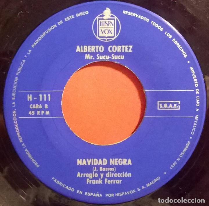 Discos de vinilo: Alberto Cortez Mr. Sucu-Sucu-La Banda Borracha , Hispavox-H 111, Hispavox-H-111 - Foto 3 - 73478307