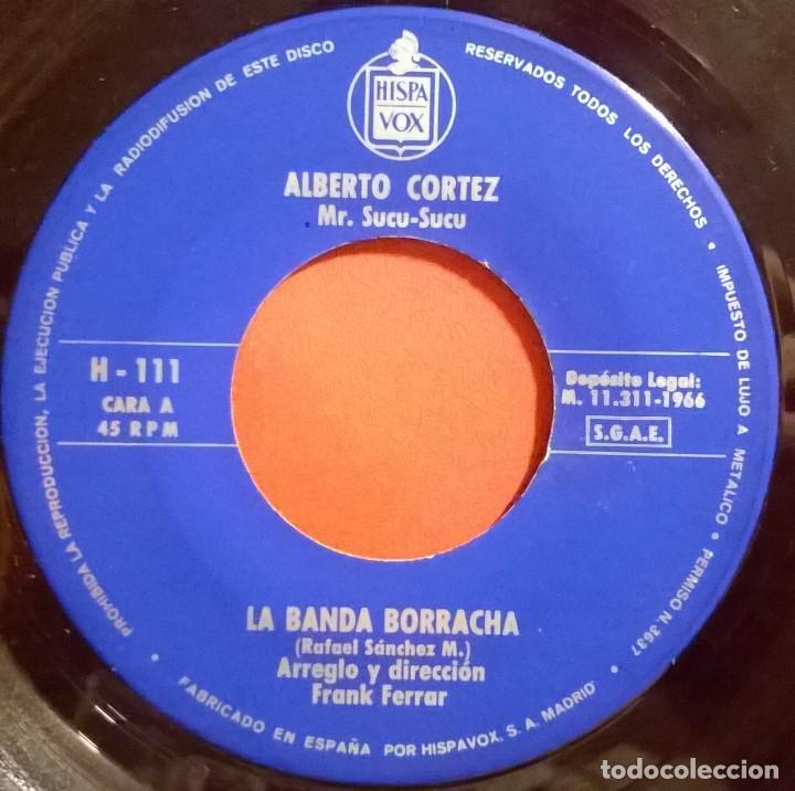 Discos de vinilo: Alberto Cortez Mr. Sucu-Sucu-La Banda Borracha , Hispavox-H 111, Hispavox-H-111 - Foto 4 - 73478307