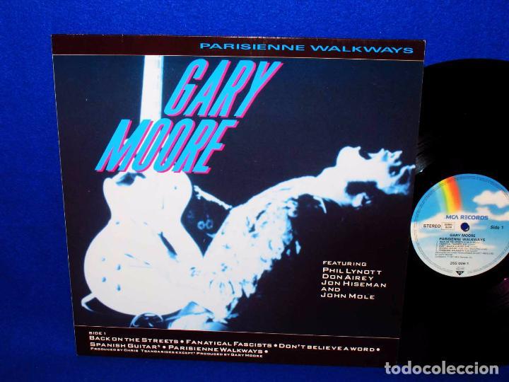 GARY MOORE PARISIENNE WALKAWAYS - LP MCA RECORDS 1987 GERMANY - (Música - Discos - LP Vinilo - Heavy - Metal)