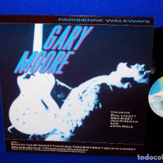 Discos de vinilo: GARY MOORE PARISIENNE WALKAWAYS - LP MCA RECORDS 1987 GERMANY -. Lote 73492743