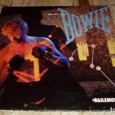 Discos de vinilo: DAVID BOWIE – LET'S DANCE = BAILEMOS – 10C-072 400165 . Lote 73500107
