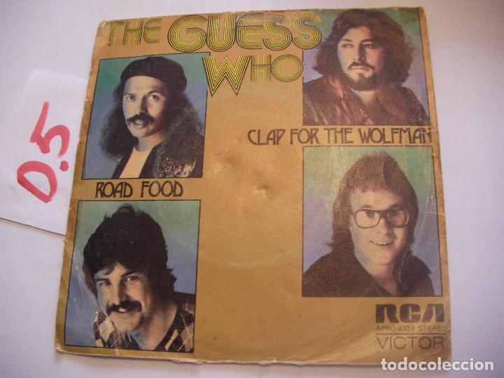ANTIGUO SINGLE - THE GUESS WHO - ENVIO INCLUIDO A ESPAÑA (Música - Discos - Singles Vinilo - Otros estilos)