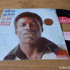 Discos de vinilo: WILSON PICKETT, HEY JUDE.. Lote 73521171