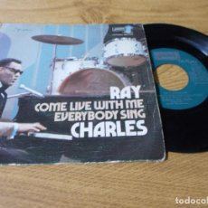 Discos de vinilo: RAY CHARLES. COME LIVE WITH ME.. Lote 73521623