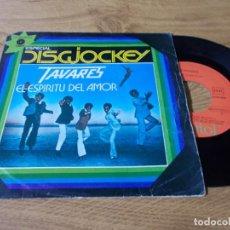 Discos de vinilo: TAVARES. EL ESPIRITU DEL AMOR.. Lote 73521843