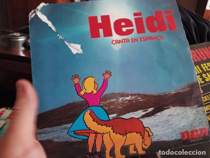 MINI LP HEIDI (Música - Discos - Singles Vinilo - Música Infantil)