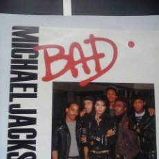 Discos de vinilo: MICHAEL JACKSON BAD SINGLE VINILO UK . Lote 73550251