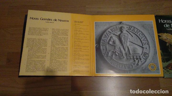 Discos de vinilo: HORAS GRANDES DE NAVARRA, VOLUMENES I, II, III Y IV,COMPLETO - Foto 4 - 73574571