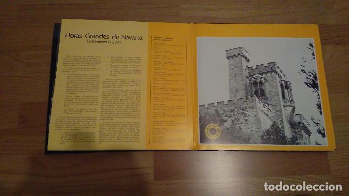 Discos de vinilo: HORAS GRANDES DE NAVARRA, VOLUMENES I, II, III Y IV,COMPLETO - Foto 5 - 73574571