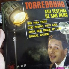 Discos de vinilo: MINI LP. TORREBRUNO. Lote 73575063