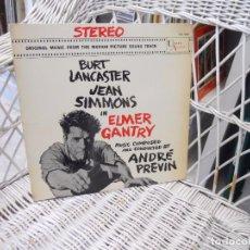 Discos de vinilo: ANDRÉ PREVIN– ELMER GANTRY.LP ORIGINAL USA 1960. Lote 73575575