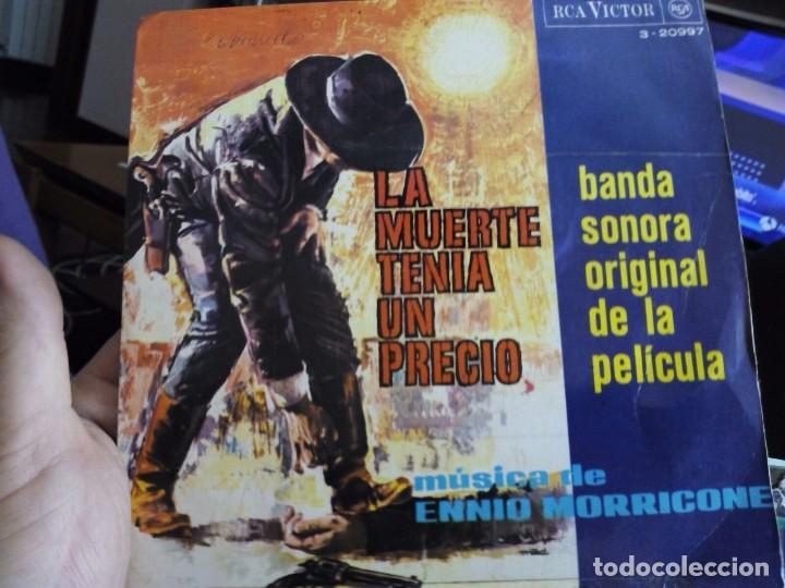 MINI LP LA MUERTE TENIA UN PRECIO (Música - Discos - Singles Vinilo - Bandas Sonoras y Actores)