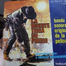 Discos de vinilo: MINI LP LA MUERTE TENIA UN PRECIO. Lote 73575875
