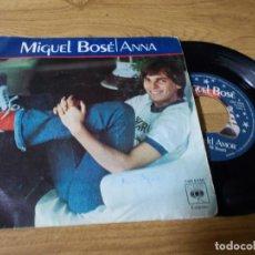 Discos de vinilo: MIGUEL BOSÉ. ANNA.. Lote 73583827