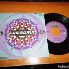 Discos de vinilo: FANGORIA EN MI PRISION / PERDIENDO EL TIEMPO SINGLE DE VINILO DEL AÑO 1990 ALASKA NACHO CANUT RARO. Lote 73590809